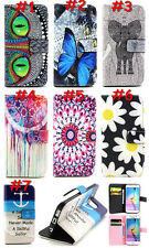Magnetic Leather Card Holder Wallet TPU Flip Shell Case Cover For Various Phones