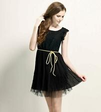 Women's Lace and Chiffon Sleeveless PARTY CLUB Dress SHOP Online M,L,XL