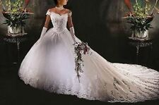 2015 Stock New White Wedding Dress Bridal Gown size: 6/8/10/12/14/16