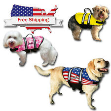 Pawz Pet Dog Life Jacket for Dogs Pet Preserver Reflective Safety Vest