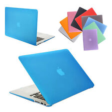 "New Rubberized Hard Case Cover For Macbook Air 11""&13'' Laptop Shell Protective"
