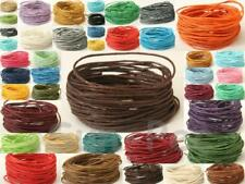 Smooth Twine 1mm Waxed HEMP String Cord for Jewelry Macrame Leather Crafts