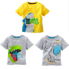 2015 Hot Sell Baby Kids Boys Catroon Tees Tops T-shirt Age 1-6 YEARS