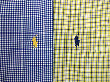 Polo Ralph Lauren Classic Fit Plaid Shirt W/ Pony $89  Gingham or Tattersall NWT