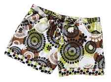 VERA BRADLEY PJ SHORTS in COCOA MOSS 3 SIZES AVAILABLE SOLD OUT NIP FREE SHIP!