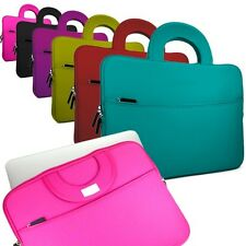 "Slim Padded Neoprene Sleeve Cover Carrying Case Bag 11.6""-12.5"" Laptop Ultrabook"