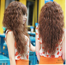 Fashion Womens Sexy Ladies Long Full Curly Wavy Hair Wigs Cosplay Party New