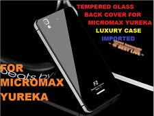 Original Luxury Tempered Glass Back Case Cover for Micromax Yu Yureka