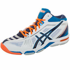 Asics Gel-Volley Elite 2 MT Volleyballschuh Herren weiß / blau / orange NEU