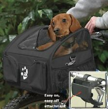 PET GEAR  3-in-1 PET BIKE BASKET CARRIER CAR SEAT DOG/CAT TRAVEL NIB