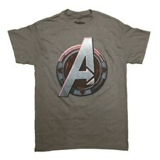 Avengers Age Of Ultron Hawkeye Logo Marvel Comics Licensed Adult Shirt S-XXL