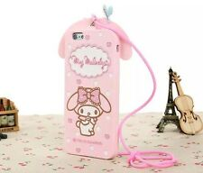 Cute Pink My Melody Silicone Case Skin Cover For iPhone / Samsung / HTC Models