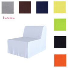 Custom Made Cover Fits IKEA LYCKSELE Chair Bed, Replace Sofa Cover, 47 Fabrics