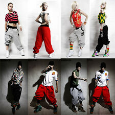 Mens Womens Casual Harem Baggy Hip Hop Dance Sport Sweat Pants Trousers Couple