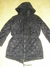 NWT Polo Ralph Lauren Women's Quilted Down Jacket Coat Black Size M $425