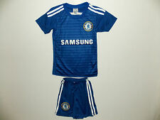 New Boys & Girls No 10 Hazard Chelsea Home Football Kit