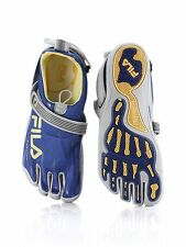 New! Fila Men's Skele-Toes- 2.0 Athletic/Water Shoes in Blue/Gray/Yellow (C-24)