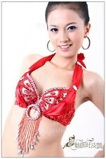 Belly Dance Costume Top Bra Size 34C, 36D,38D 11 Colors