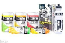 Science In Sport SIS Energy Endurance Pack-Gels Sachets Bars- with 800ml Bottle