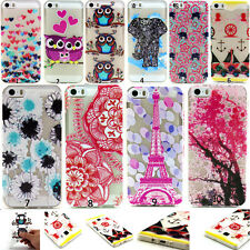 New Soft Rubber Silicone Paint Clear Case Cover For Various Samsung Galaxy Phone