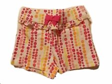 NWT Girl's Gymboree Butterfly Catcher polka dot elastic shorts 6 12 18 24 months