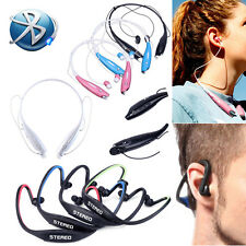 Bluetooth Wireless Stereo Sport Earphone Headphone Headset for iPhone Samsung LG