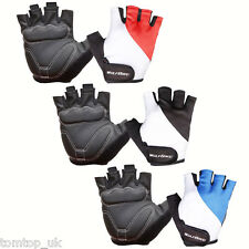 3 Colors Sports Racing Cycling Bike Bicycle Gel Half Finger Gloves Size M L XL