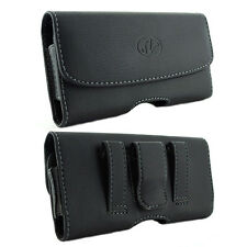 Leather Horizontal Belt Clip Case Pouch Holster for Verizon Wireless Cell Phones