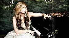 Avril Lavigne Music Star Fabric Art Cloth Poster 43inch x 24inch Decor 63