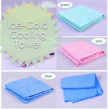Novelty Cooling Sports Towel Gym Fitness Chilly Pad Menopause Heat Relief Golf