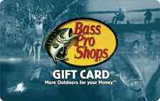 Bass Pro Shops Gift Card $25 $50 $100 - mail delivery