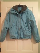 KIDS' KILLY SKI JACKET SIZE 14. Light Blue