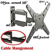 """New Fully Adjustable Articulating TV Wall Mount for Sharp Screens 26"""" to 55"""""""