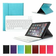 For iPad 2 3 Air mini 2 Blutooth Wireless Keyboard Thin Leather Case Smart Cover