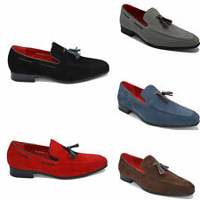 Mens Italian Loafers Tassel Driving Casual Party Slip On Shoes 6 7 8 9 10 11 12