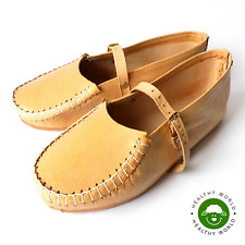 SPECIAL OFFER! Women REAL LEATHER Handmade Sandals, Moccasins, Beach Shoes, Flat