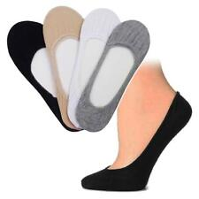 6 Pairs Womens Foot Covers Liner Footies No-Show Low Cut Socks Dress Flat Shoes