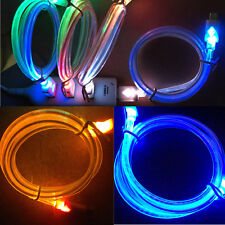Hot Cool LED Luminous Light Data Cable for Iphone4/5/6 Samsung Android Phone