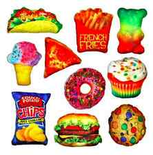 New Decorative Novelty Throw Pillows Food Fight! 10 Different Choices Fun!