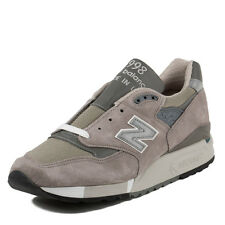 "New Balance Mens M 998 ""Made in USA"" Grey/Dark Grey M998"