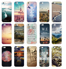 New Fashion  Various Pattern Hard Back Skin Case Cover  For Apple Iphone 5/5S 6