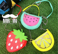 Fresh Fruit Watermelon Strawberry Orange Handbag Shoulder Bag Mini Messenger