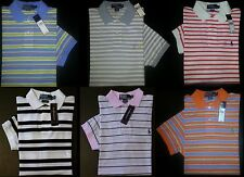 NWT $75-95 S M L XL Striped RALPH LAUREN POLO Casual Polo Shirt w/ Horseman!