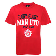 Manchester United Football Club Official Soccer Gift Boys Graphic T-Shirt Red