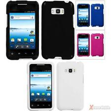 Solid Color Phone Snap-on Hard Protect Case For LG VM696/LS696 (Optimus Elite)