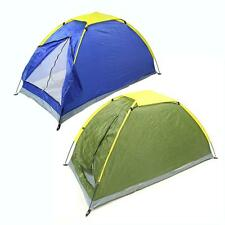 High Quality Waterproof Single layer Outdoor 1Person Instant Camping Family Tent