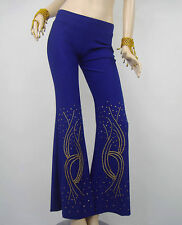 Belly Dance Dancing Costume Trousers Sequined Yoga Pants Dancewear