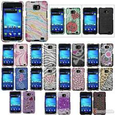 Diamante Snap-on Hard Case Cover For AT&T SAMSUNG i777(Galaxy S2)