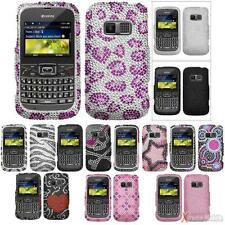 For KYOCERA S3015(Brio) Diamond Hard Case Cover Bling Rhinestones