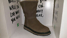 Cougar Women's Virgo Guaranteed Waterproof Cold Weather Boots Putty Suede